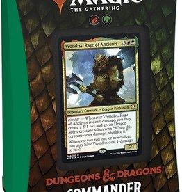 Wizards of the Coast Draconic Rage Commander Deck - Adventures in the Forgotten Realms Commander Deck