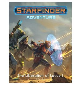 PAIZO Starfinder RPG: Adventure - The Liberation of Locus-1 [preorder]