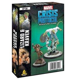 Atomic Mass Games Marvel Crisis Protocol: Lizard & Kraven Pack