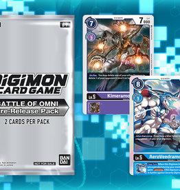 Digimon Prerelease 05: Battle of Omni, August 5