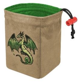 Red King Embroidered Dice Bag: Spectrum Dragon