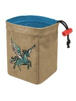 Red King Embroidered Dice Bag: Spectrum Pegasus