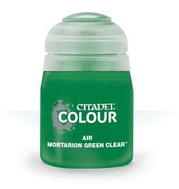 Citadel Paint Air: Mortarion Green Clear