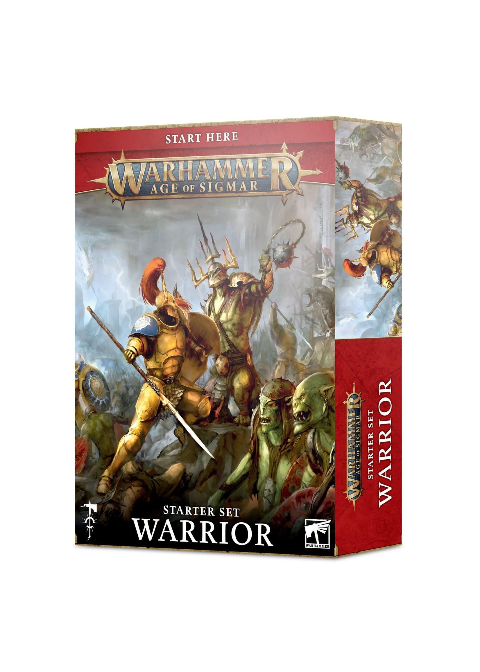 Games Workshop Age of Sigmar Warrior Starter Set