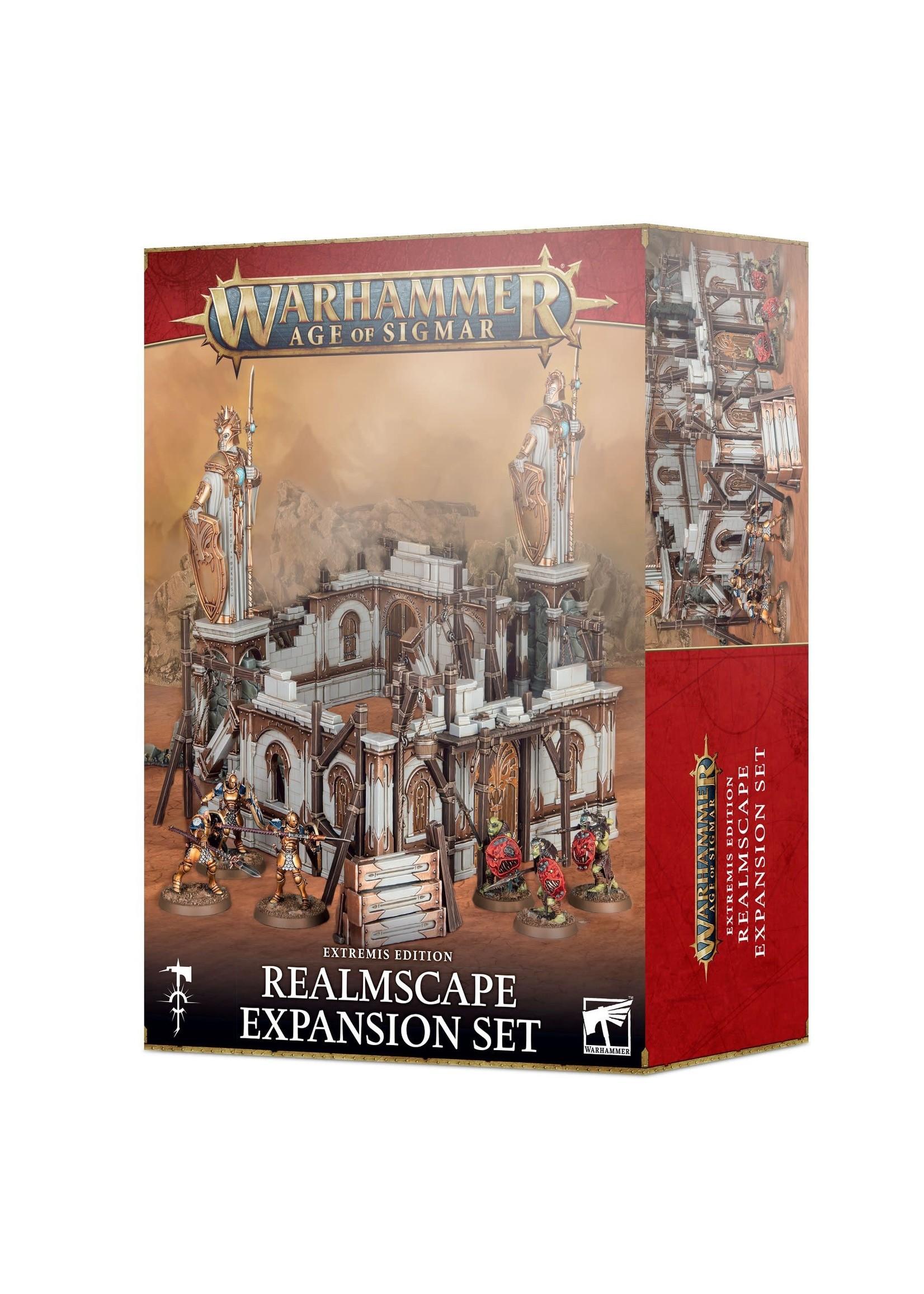 Games Workshop Age of Sigmar Extremis Realmscape Expansion Set