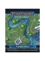 PAIZO Starfinder RPG: Flip-Mat: Forest Moon