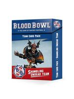 Games Workshop Blood Bowl: Shambling Undead Team Card Pack