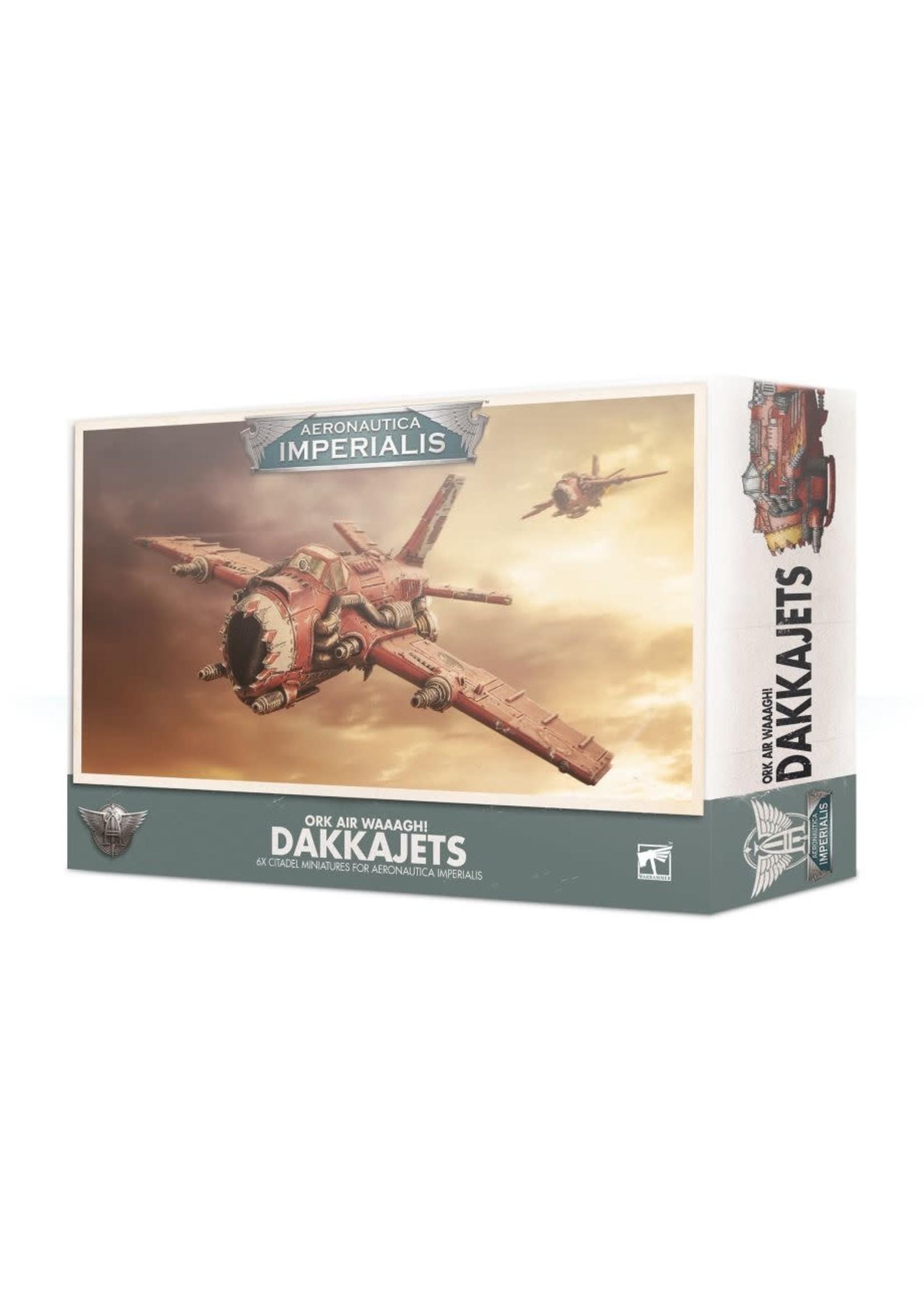 Games Workshop A/IMPERIALIS: ORK AIR WAAAGH! DAKKAJETS