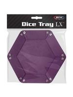 BCW Hexagonal Dice Tray Purple
