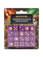Games Workshop Age of Sigmar Dice: Grand Alliance Death