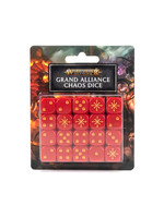 Games Workshop Age of Sigmar Dice: Grand Alliance Chaos