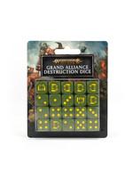 Games Workshop Age of Sigmar Dice: Grand Alliance Destruction