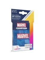 Gamegenic Marvel Champions Art Sleeves - Marvel Blue