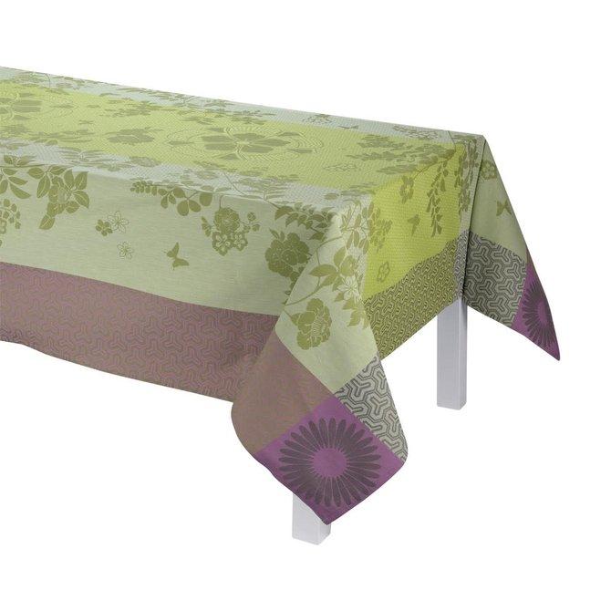 """LJF Tablecloth Asia Mood Almond 47""""x47"""""""