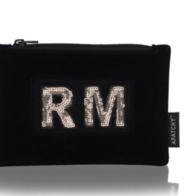 Apatchy Diva Collection Purse Midnight Navy Velvet