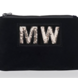Apatchy Diva Collection Small Pouch Midnight Navy Velvet