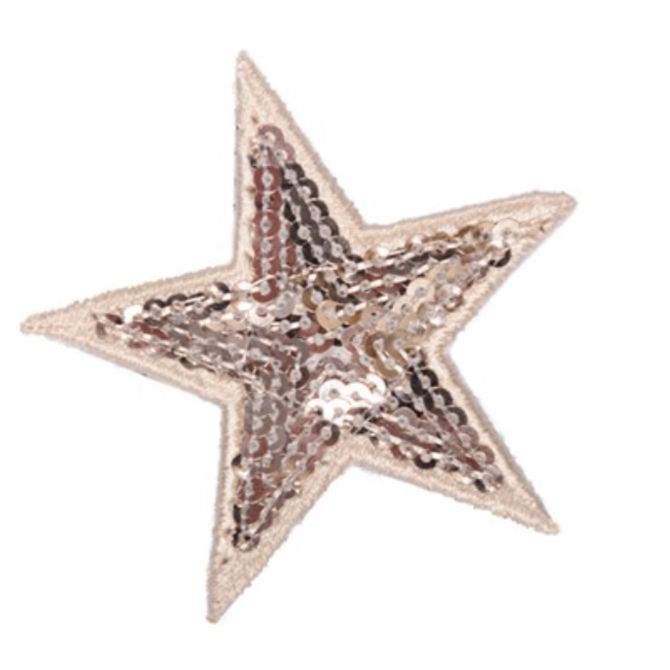 Apatchy Sequin Star Patch
