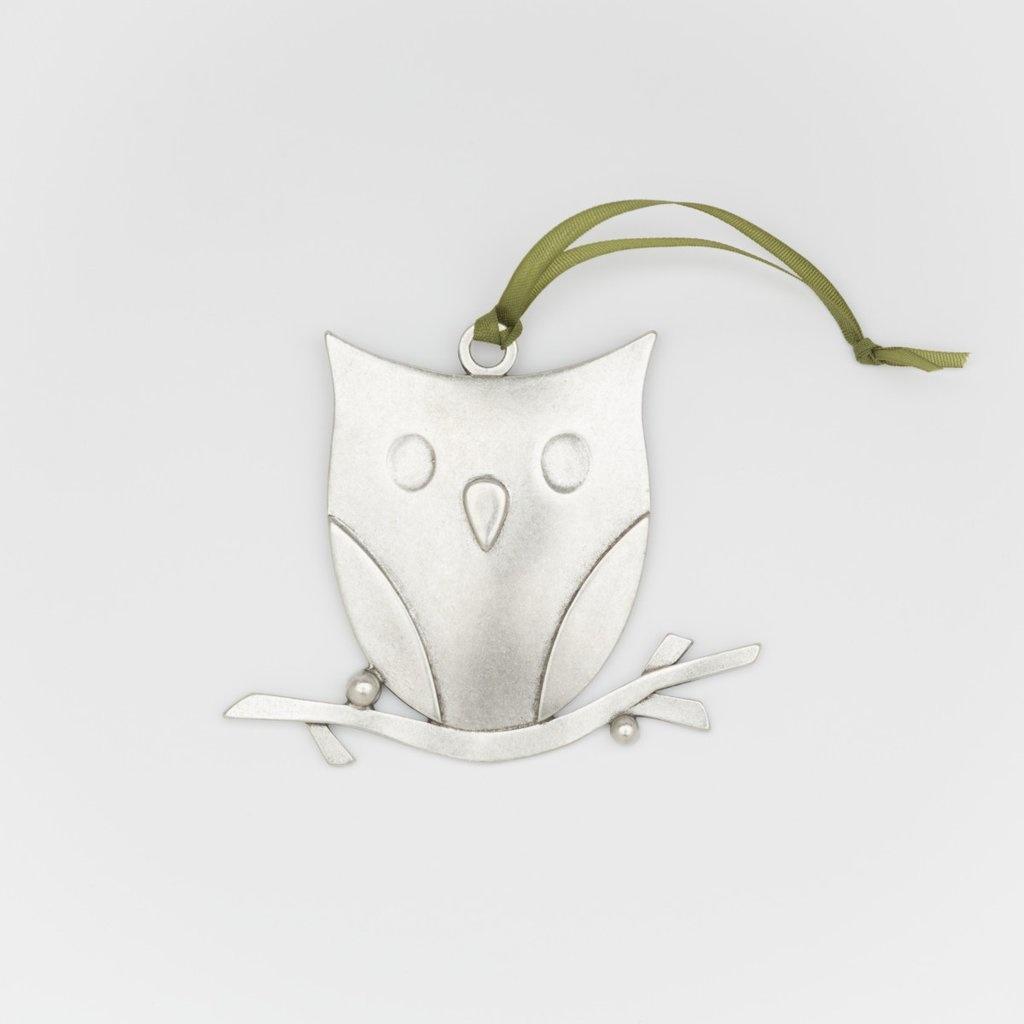 Beehive Owl Ornament