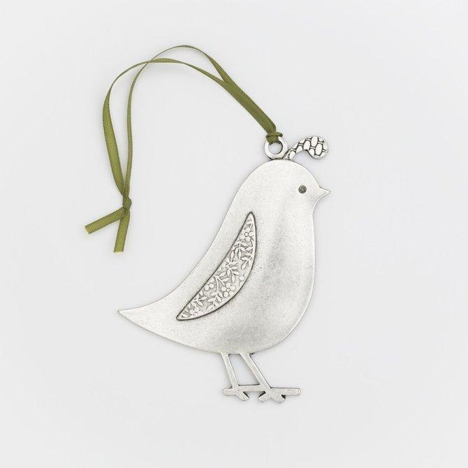 Beehive Partridge Ornament