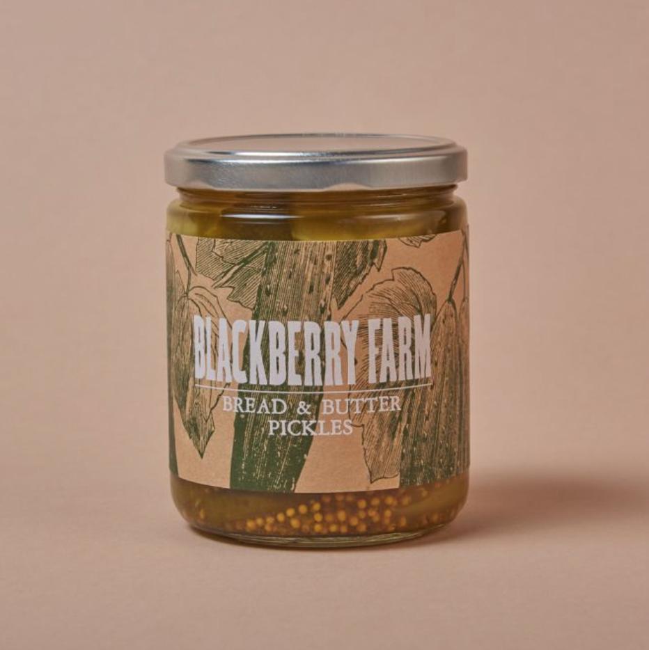 Blackberry Farm Bread & Butter Pickles