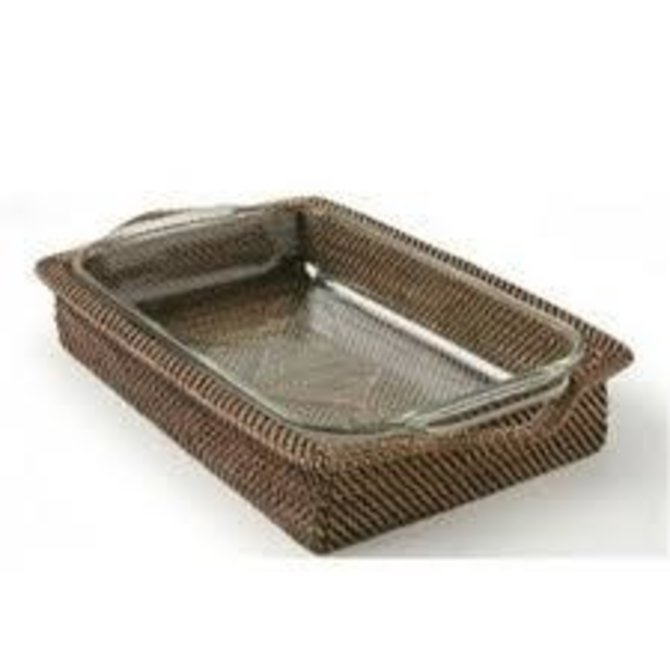 Calaisio Rectangle Tray w/ pyrex - 3qt.