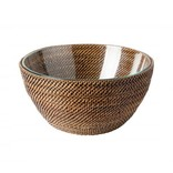 Calaisio Round Bowl with Glass