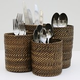 Calaisio Round Flatware Holder with 4 Compartments
