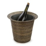 Calaisio Wine and Champagne Holder with Galvanized Bucket