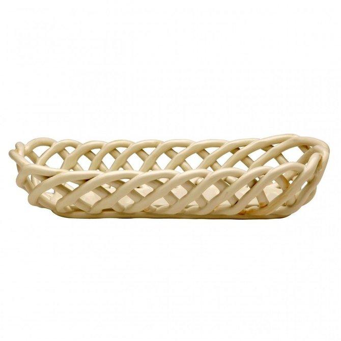 Casafina Living Baguette Basket Cream