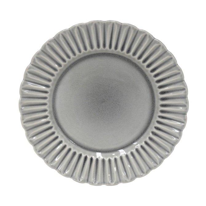 Casafina Living Dinner Plate Crystal- Gray