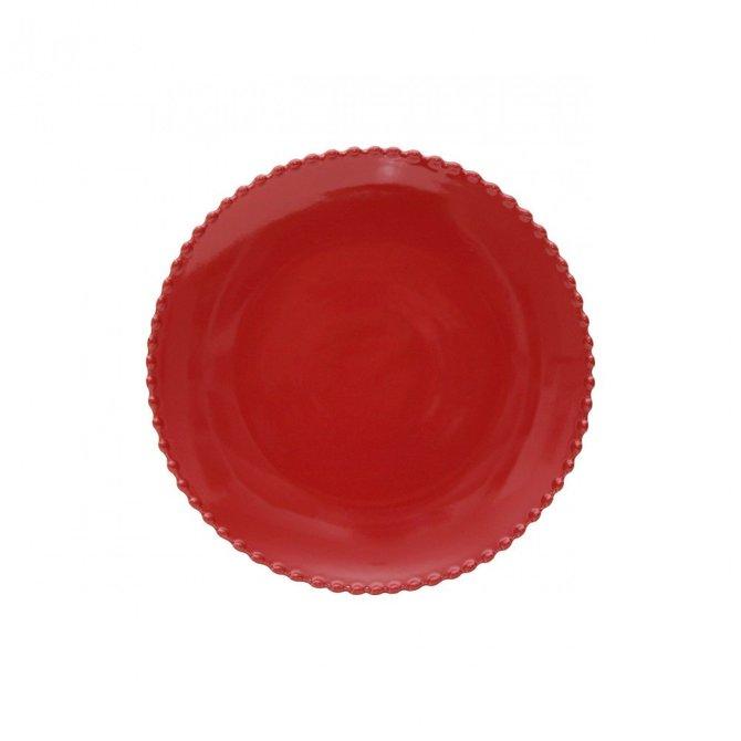Casafina Living Dinner Plate Pearl Rubi
