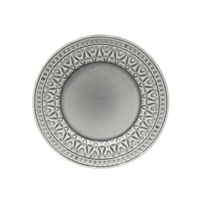 Casafina Living Salad Plate Crystal- Gray
