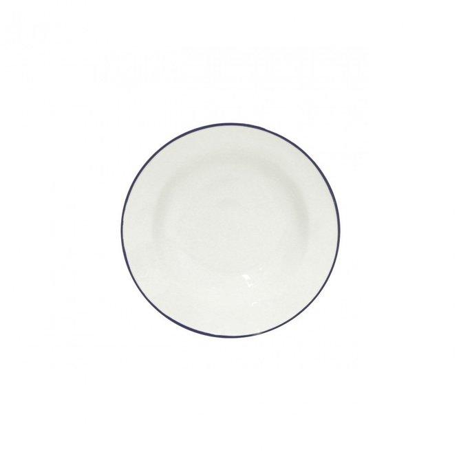Casafina Living Soup / Pasta Plate Beja White