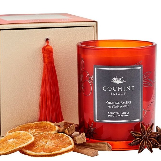 Cochine Saigon Orange Amere Scented Candle
