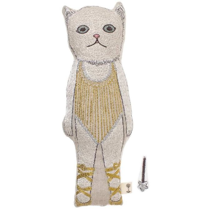 Coral and Tusk LLC Baby Cat pocket doll with wand