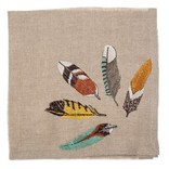 Coral and Tusk LLC Napkin 20x20 Feather Fan