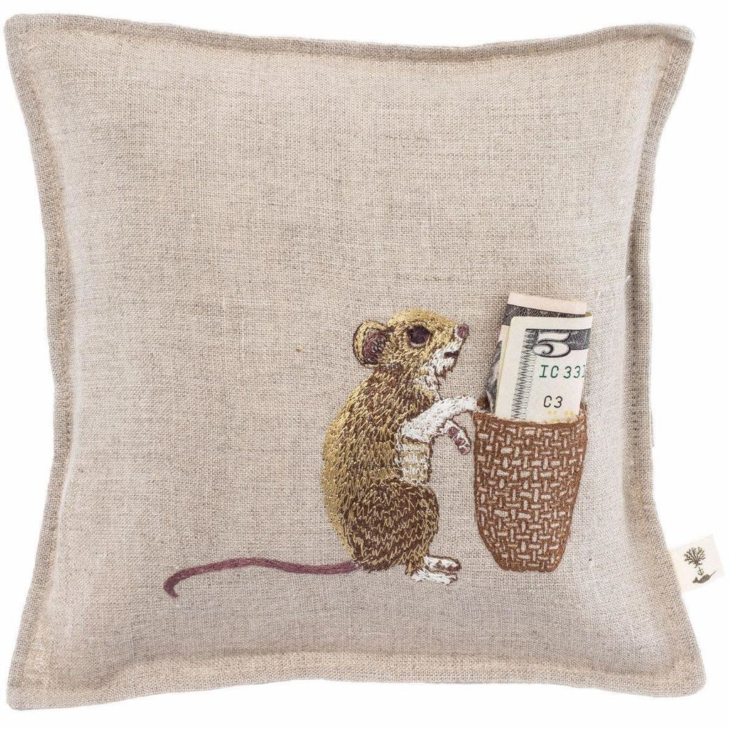 Coral and Tusk LLC Pillow Mouse Tooth Fairy Keepsake