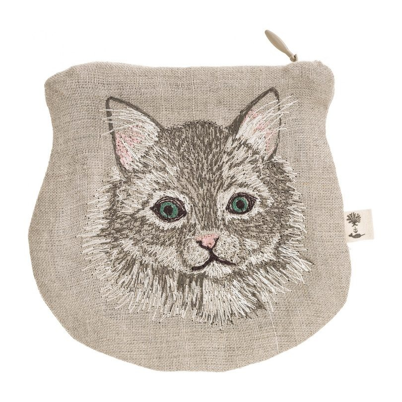 Coral and Tusk LLC Pouch Cat