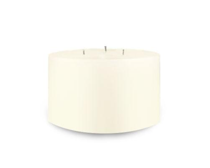 Creative Candles, LLC Ivory NF 6x3 3-wick pillar candle