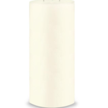 Creative Candles, LLC Ivory NF 6x12 3-wick pillar candle