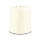 Creative Candles, LLC Ivory NF 6x6 3-wick pillar candle