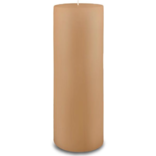 Creative Candles, LLC Cafe Au Lait NF 3x9 pillar candle
