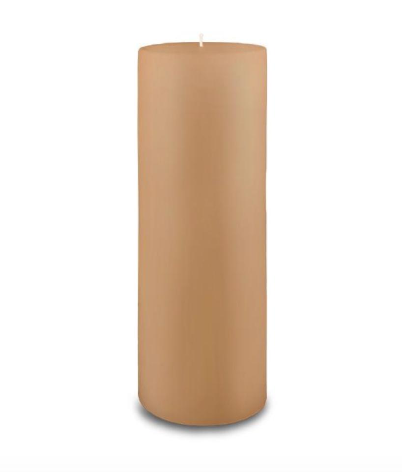 Creative Candles, LLC Cafe Au Lait NF 3x9 pillar candle