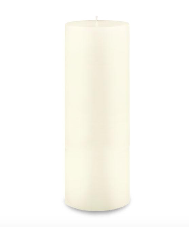 Creative Candles, LLC Ivory NF 3x9 pillar candle