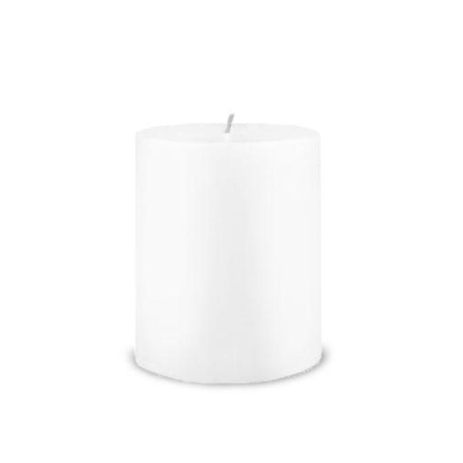 Creative Candles, LLC White NF 3x4 pillar candle