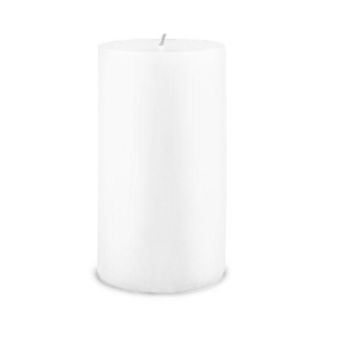Creative Candles, LLC White NF 3x6 pillar candle