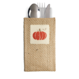 Cutlery Couture Pumpkin Long Patch Set of 8