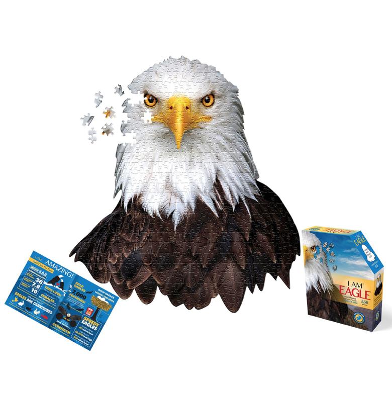 E11even I Am Eagle Puzzle