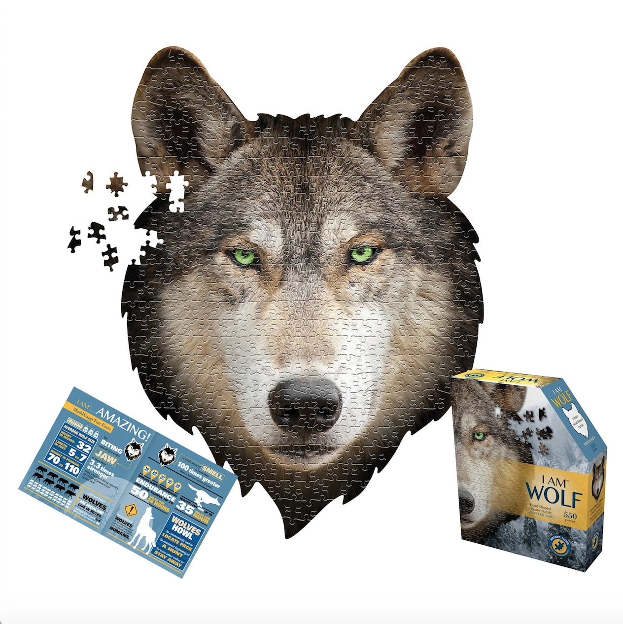 E11even I Am Wolf Puzzle