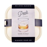 W&P Design Peak Sphere Ice Mold: White